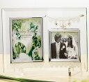 ジュエリーチャーム ガラスフォトフレーム ガラス製写真立て 【ギフト ブライダル 結婚式引出物 結婚内祝 結婚祝い お祝い お返し 各種内祝 引出物 景品】