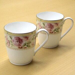Noritake (ノリタケ) ハートフォード ペアマグカップ 【ギフト 出産内祝 結婚内祝 結婚式引出物 快気祝 各種内祝 引出物 景品】