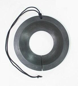 キャスターストップ大 (キャスターストッパー) 150mm径 1個入り/車輪止め/台車補助用品/物流資材