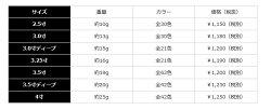 カンジインターナショナルクリックスプロスペック2.5号KanjiInternationalClicksProspec2.5size【メール便OK】釣り具フィッシングエギングイカメタルエギアオリイカコウイカモイカバショウイカヤリイカササイカヒイカ