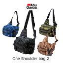 【あす楽対応】アブガルシア ワンショルダーバッグ 2AbuGarcia One Shoulder bag 2釣具 フィッシング バッグ 収納 堤防 オフシ…