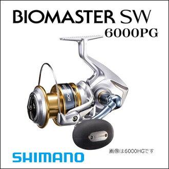 供Shimano绕线机16生物主人SW 6000PG SHIMANO 16 BIOMASTER SW 6000PG钓具钓鱼泛使用的supininguriruofushoajigingukyasutinguboto船hiramasaburimadai