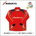 マルキュー ジップアップシャツ レッドMRUKYU Zip-Up Shirt Red【メール便OK】 釣り具 フィッシング ウェア 速乾 メッシュ UV…