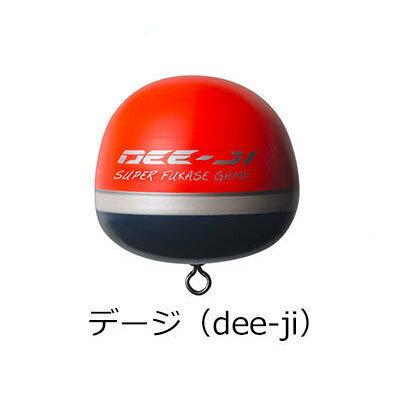 【あす楽対応】釣武者 カン付きウキ デージ(dee-ji) オレンジ/イエロー TsurimuSha dee-ji Orange/yellow 釣り具 フィッシング 環付うき するするスルルー釣り ウキフカセ おすすめ 通販 浮き ウキ 磯 大物