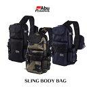 【あす楽対応】アブガルシア  スリングボディバッグワンショルダー型ボディバッグAbuGarcia SLING BODY BAG釣り具 フィッシング 収…