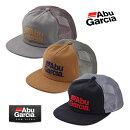 【あす楽対応】アブガルシフロッキープリントメッシュキャップ帽子AbuGarciaFlockyPrintMeshCapフィッシング釣り具通販ウェア帽子キャップ日よけ紫外線赤外線