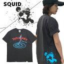 テトラポッツ スクイッドTEE SK スミクロTPT040 Tシャツ 半袖 Tetrapots SQUID TEE【1枚までメール便OK】 通販 釣り具 フィ…
