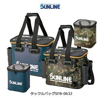 산라인탁크루밧그 SFB-0632 SUNLINE Tackle Bag SFB0632 통판 낚시도구 피싱 수납 태클 백 라드 홀더 바닷가 낚시 이너 케이스