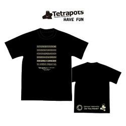 テトラポッツTシャツハブファンTPT044カラー:ブラックTetrapotsHAVEFUN【1枚までメール便OK】通販釣り具フィッシングTシャツウェアウエア半袖モンパチハブ柄