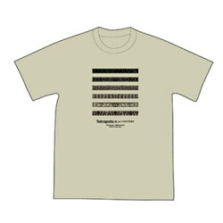 テトラポッツTシャツハブファンTPT044カラー:サンドカーキ半袖TetrapotsHAVEFUN【1枚までメール便OK】通販釣り具フィッシングTシャツウェアウエア半袖モンパチハブ柄