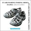【あす楽対応】シマノ イヴェアーマリーン フィッシングシューズFS-091I カラー:グレーカモ サンダルSHIMANO EVAIR MARINE FISHIN…