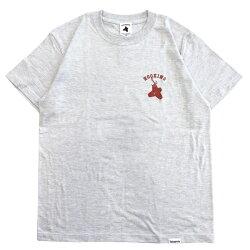 テトラポッツTシャツショアTTPT-043半袖カラー:アッシュ(灰色)TetrapotsShore-T【1枚までメール便OK】通販釣り具フィッシングTシャツウェアウエア半袖モンパチショア