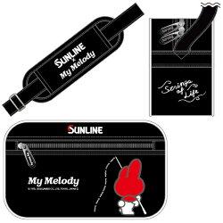 【あす楽対応】サンラインサンリオショルダーバッグSKT-1864ハローキティ(ネイビー)ハローキティ(ブラック)マイメロディ(ブラック)SUNLINEHelloKittyShoulder-Bag通販釣り具フィッシングショルダーバッグ収