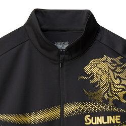 サンラインジップアップシャツSUW-5569HT長袖S〜LLSUNLINEZipUpShirt通販釣り具フィッシングウェアシャツインナーアウター防寒長袖磯釣りフカセ