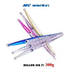 MCワークスメタルジグキラージグ4(300g)MCWORKSKILLERJOG4(300g)【1個までメール便OK】釣具フィッシングメタルジグルアーオフショア船ジギングヒラマサカンパチブリ