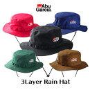 【あす楽対応】アブガルシア3レイヤーレインハット帽子AbuGarcia3LayerRainHatフィッシング釣り具通販ウェア帽子ハットレイン雨具防水