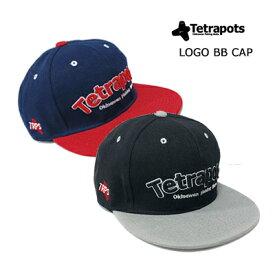 【あす楽対応】テトラポッツ LOGO BB CAP  TPC-014ロゴBBキャップ 帽子Tetrapots LOGO BB CAP  TPC-014通販 釣り具 フィッシング 帽子 CAP テトラポット モンパチ モンゴル800 高里悟