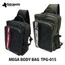 【あす楽対応】テトラポッツ ショルダーバッグ メガボディバッグ TPG-015モンゴル800 モンパチ (テトラポット)Tetrapots Mega B…