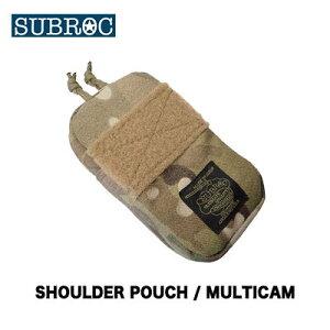 【あす楽対応】サブロック ショルダーポーチ/マルチカム(4996624027058) SUBROC SHOULDER POUCH/ MULTICAM釣り具 フィッシング バッグ 収納 ポーチ