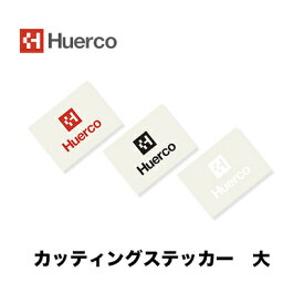 【あす楽対応】フエルコ ロゴカッティングステッカースクエア 大 (190×250mm)角型大Huerco Cutting Sticker Square Logo【メール便OK】フィッシング ステッカー シール アジ メバル シーバス バス トラウト