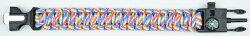 ベルモントファイヤースターターブレスレットコンパス付きBelmontFirestarterbracelet【メール便OK】アウトドアキャンプ火起こしコンパス方位磁石クッキング調理ブレスレット