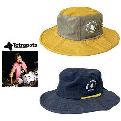 【あす楽対応】テトラポッツ帽子TPアドベンチャーハットTetrapotsTPAdventureHat釣り具フィッシング帽子ハット撥水フカセルアーモンパチモンゴル800高里悟