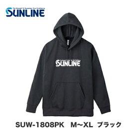 【あす楽対応】サンライン プルオーバーパーカー SUW-1808PK M〜XL ブラックSUNLINE SUW-1808PK M〜XL Blackサンライン パーカー ウエア ウェア トレーナー