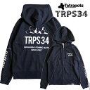 【あす楽対応】テトラポッツ テトラポッツパーカー TPO-017 ネイビー 長袖 Tetrapots TRPS PARKA NAVY釣り具 フィッシング Tシャツ …