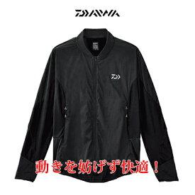 【あす楽対応】ダイワ(DAIWA) ストレッチハイブリッドジャケット DJ-35008 ブラック DAIWA stretch hybrid jacket DJ-35008 black 通販 フィッシング 釣り具 ウェア 道中着 暴風 グローブライト