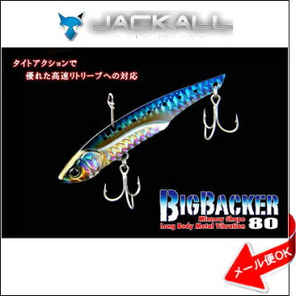 豺大的巴克80 JACKALL BIG BACKER 80钓鱼钓具ruateppambaibushibasusuzuki