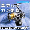 15 NEW Shimano twinpower SW 5000HG SHIMANO 15 NEW TWIN POWER SW 5000HG fishing equipment fishing spinning reel offshore jigging kyasutinngu_booto boat big game tuna Kingfish Buri GT