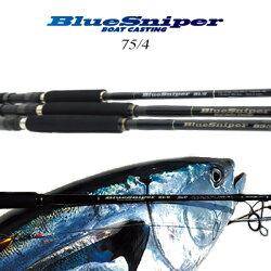【送料無料】【あす楽対応】ヤマガブランクスブルースナイパーボートキャスティング75/4(4560395514538)YAMAGABlanksBlueSniper75/4BoatCastingGameフィッシング釣り具ロッドキャスティングボートショアジギングプラッギ