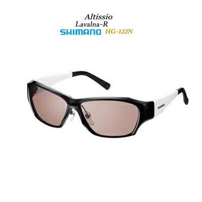 【あす楽対応】シマノ サングラス 偏光グラス HG-122N ラヴァルナRフレームカラー:ブラック/ホワイトSHIMANO Sunglasses HG122N Lavalna R FrameColor:Black-White サングラス 偏光グラス フィッシング 釣り具 アクセサリー