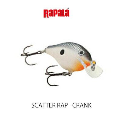 【大特価】 ラパラ スキャッターラップ クランクRapala Scatter Rap Crank SCRC5釣り具 フィッシング クランクベイト ハードルアー おすすめ 通販 ブラックバス バスルアー【3個までメール便OK】
