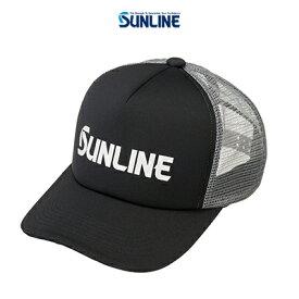 【あす楽対応】サンライン メッシュキャップ CP-3818 ブラック F (4968813974504) SUNLINE mesh CAP CP-3818 帽子 /釣り/釣り具/フィッシング/帽子/キャップ/