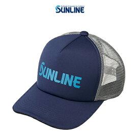 【あす楽対応】サンライン メッシュキャップ CP-3818 ネイビー F (4968813974511) SUNLINE mesh CAP CP-3818 帽子 /釣り/釣り具/フィッシング/帽子/キャップ/
