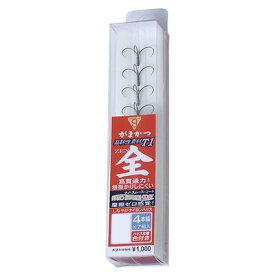 がまかつ 鮎 スマートケース T1 全 4本錨 (糸付き鈎) Gamakatsu AYU A149 smart CASE /釣り/釣り具/フィッシング/ライン/鮎友釣り用品/ハリス付きイカリ/鈎/針/泳がせ釣り/