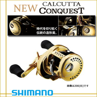 032041 Shimano NEW Calcutta conquest 200 RIGHT (right hand) ( 14 Calcutta conquest ) NEW SHIMANO CALCUTTA CONQUEST 200RIGHT fishing fishing Jig Baytril bus bass fresh freshwater