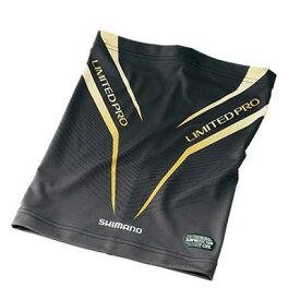 シマノ (SHIMANO) サンプロテクション クールネッククール リミテッドプロ AC-074R ブラック(F) SUN PROTECTION・COOL neck cool LIMITED PRO 釣り/釣り具/フィッシング/日除け/冷感/熱中症対策/