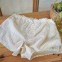 『ゆるエコ・プレミアム』 トランクス ( 手紡ぎ オーガニック 綿100% ) 色: 生成り メンズ 下着 パンツ ゆったり …