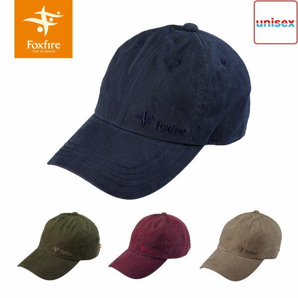 フォックスファイヤー Foxfire ユニセックス ウォッシュドロゴキャップ 帽子 つば広 登山 山登り ハイキング トレッキング キャンプ 山ガール フェス メンズ レディース 男性用 女性用 Wash Logo Cap FOX5422751