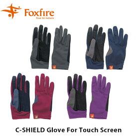 送料無料 フォックスファイヤー Foxfire メンズ レディース ユニセックス コカゲシールドグラブ for Touch Screen 手袋 グローブ 男性用 女性用 COCAGE SHIELD Glove For Touch SCreen FOX5520722
