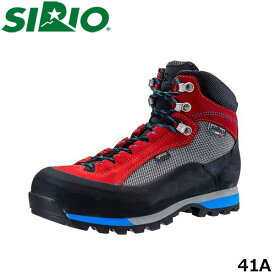 送料無料 シリオ 登山靴 41A メンズ レディース ブーツ スニーカー ミッドカット ゴアテックス 防水 トレッキングシューズ 登山 3E ウォーキング ハイキング アウトドア 日本人専用 SIRIO SIR41A