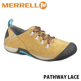 送料無料 メレル パスウェイレース メンズ アンテローブ アウトドア ウォーキング 登山 スニーカー シューズ 靴 男性用 MERRELL PATHWAY LACE ANTELOPE 41567 MERM41567