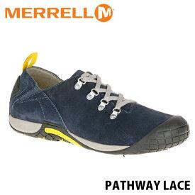 送料無料 メレル パスウェイレース メンズ ネイビー アウトドア ウォーキング 登山 スニーカー シューズ 靴 男性用 MERRELL PATHWAY LACE NAVY 575517 MERM575517