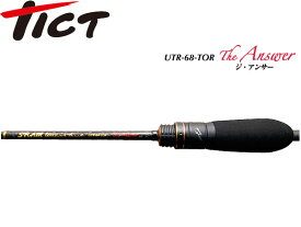送料無料 ティクト ロッド SRAM UTR-68-TOR The Answer UTR-68-TOR TICT TIC4988540178051