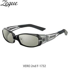 Zeque ゼクー ジールオプティクス ZEAL OPTICS 偏光サングラス 偏光グラス 偏光レンズ ヴェロ セカンド VERO 2nd F-1732 BLACK×GRAY TRUEVIEWSPORTS×SILVERMIRROR GLE4580274169031
