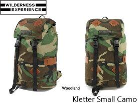 送料無料 ウィルダネスエクスペリエンス バックパック クレッタースモール Kletter Small Camo 26L WILDERNESS EXPERIENCE WIL019