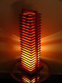 FlamesHIKIDASHI(引き出し)◇木製可動フロアスタンド【インテリア照明】:送料無料 kkskd