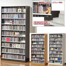 収納力抜群!CD・DVD奥行2段タンデムストッカー:幅890:送料無料 TCS890